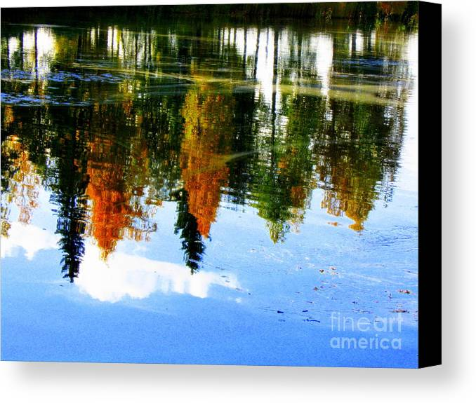 Autumn Canvas Prints Canvas Print featuring the photograph Fall Colors by Pauli Hyvonen