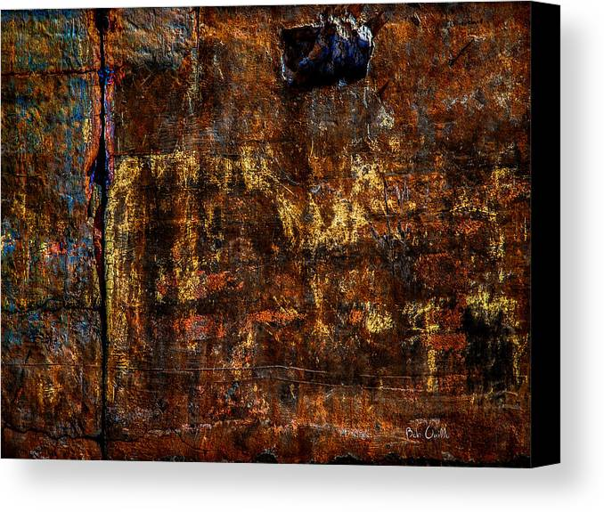 Foundation Canvas Print featuring the photograph Foundation Six by Bob Orsillo