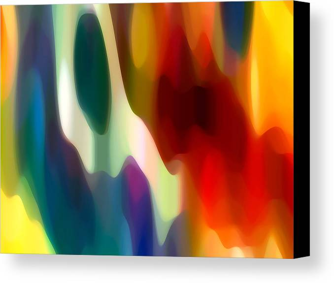 Fury Canvas Print featuring the painting Fury 2 by Amy Vangsgard
