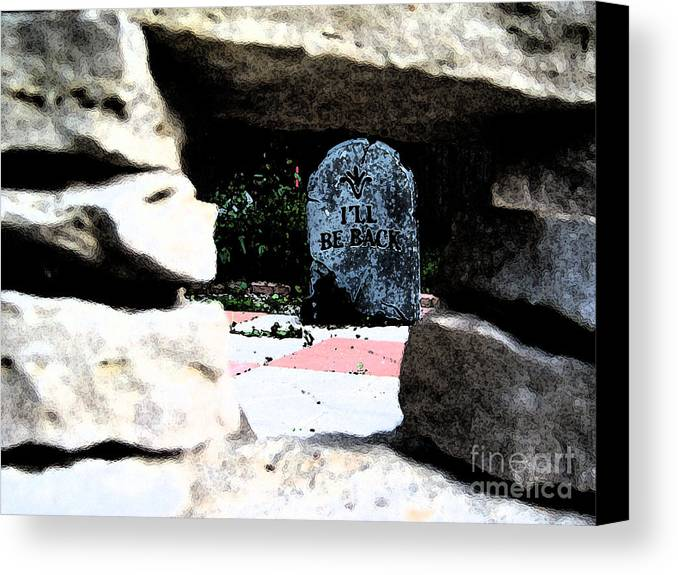 Irst Star Art Canvas Print featuring the photograph I'll Be Back By Jrr by First Star Art