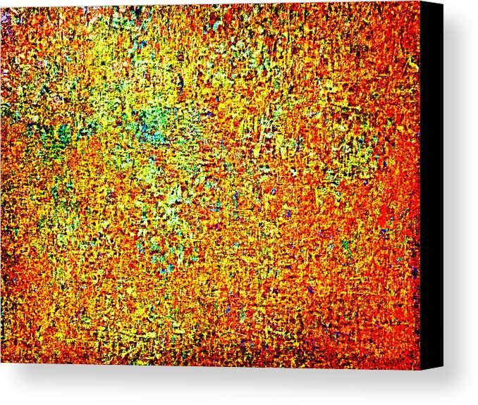Abstract Canvas Print featuring the photograph Inchoate Dreams by Aurelio Zucco