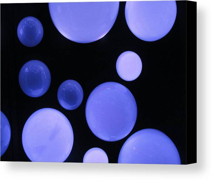 Blue Canvas Print featuring the photograph Indigo Glow by Tiffany Erdman