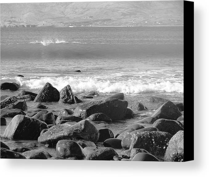 Ireland Canvas Print featuring the photograph Irish Coast by Tiffany Erdman