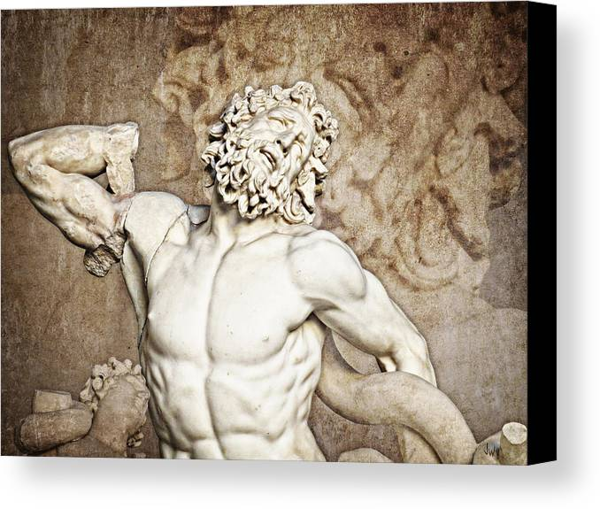 Rome Canvas Print featuring the photograph Laocoon by Joe Winkler
