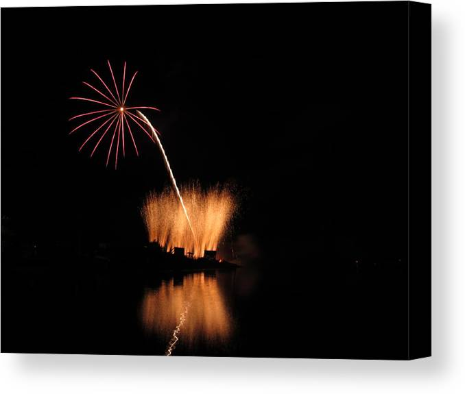 Garrison Cove Canvas Print featuring the photograph Light Flower by Donnie Freeman