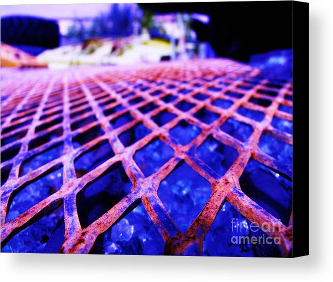 Metal Canvas Print featuring the photograph Metal by Jaden Norton