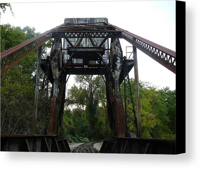 Virginia Canvas Print featuring the photograph Metalworks by Two Bridges North