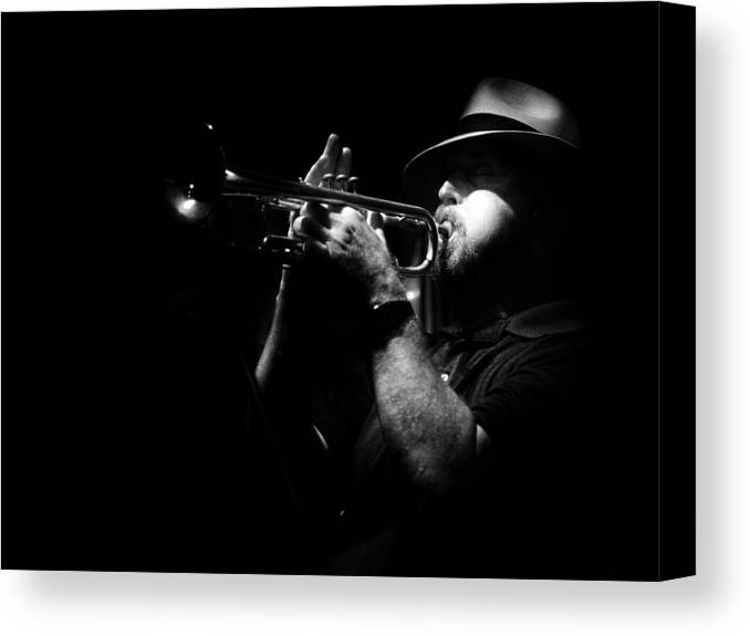 Jazz Canvas Print featuring the photograph New Orleans Jazz by Brenda Bryant