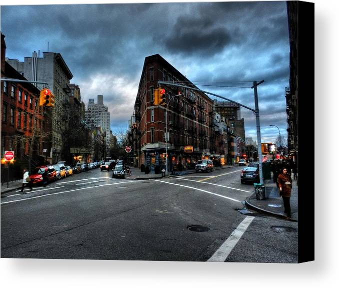 New York City Canvas Print featuring the photograph New York City - Greenwich Village 012 by Lance Vaughn