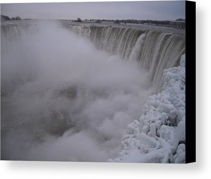 Niagara Falls Canvas Print featuring the photograph Niagara Falls by Anastasia Konn
