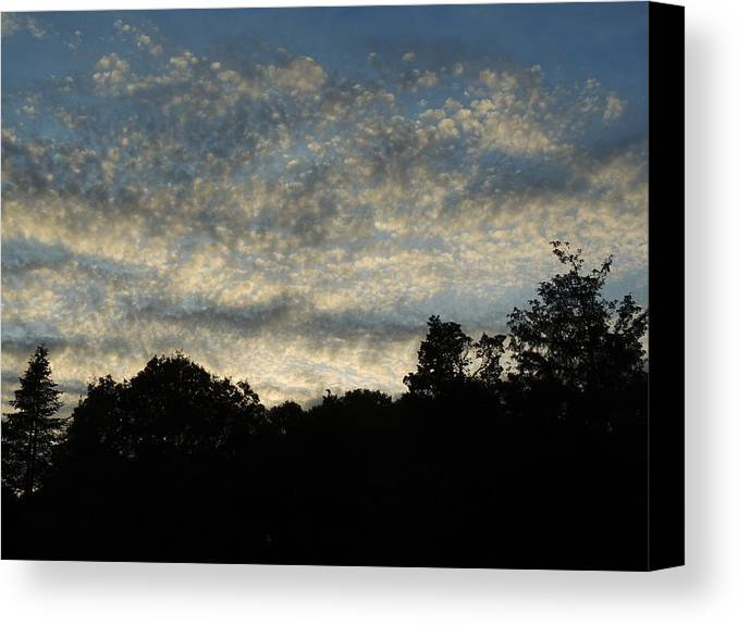 Pearls Canvas Print featuring the photograph Pearls In The Sky by Anastasia Konn