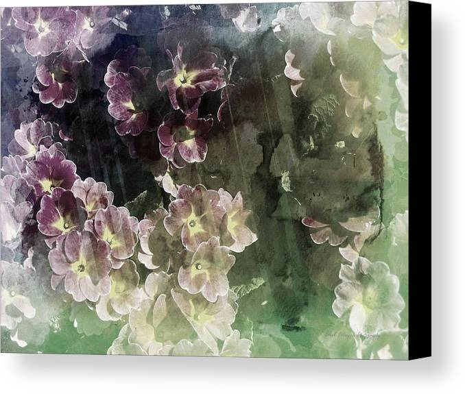 Pastel Canvas Print featuring the photograph Relaxing Flowers by Frank Salvaggio