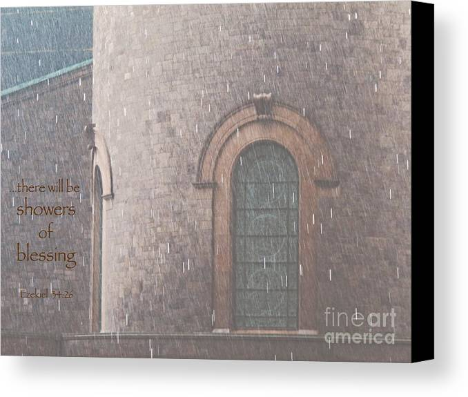 Rain Canvas Print featuring the photograph Showers Of Blessing by Ann Horn