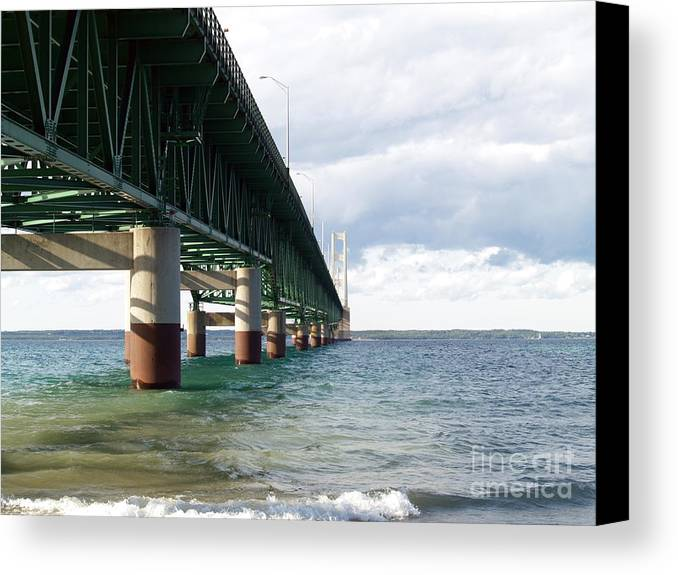 Water Canvas Print featuring the photograph Side -tracked by Melissa McDole
