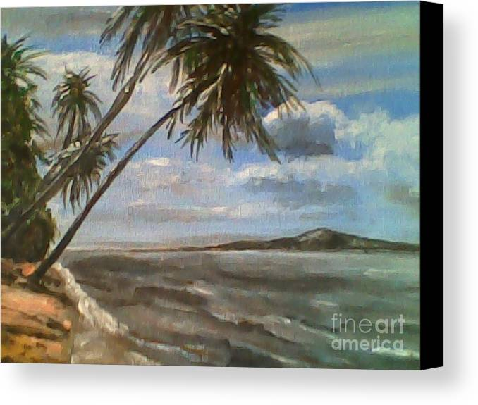 Philippines Canvas Print featuring the painting Siquijor Island by Richard John Holden RA
