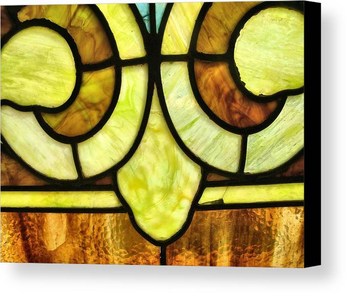 Stained Glass 3 Canvas Print featuring the photograph Stained Glass 3 by Tom Druin