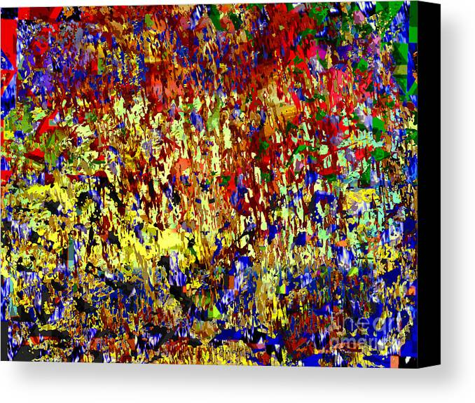 Sui Generis Canvas Print featuring the painting Sui Generis by J Burns