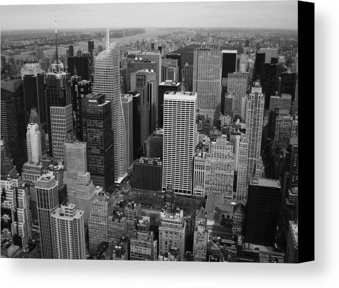 New York Canvas Print featuring the photograph The Big Apple by Tom Hard