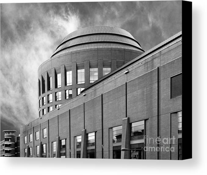 Aau Canvas Print featuring the photograph University Of Pennsylvania Wharton School Of Business by University Icons