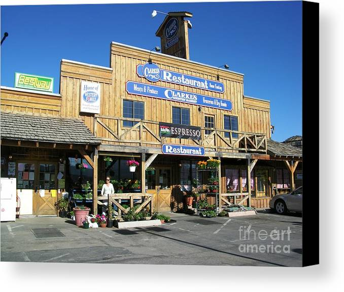 Usa Canvas Print featuring the photograph Utah Store by Ted Pollard