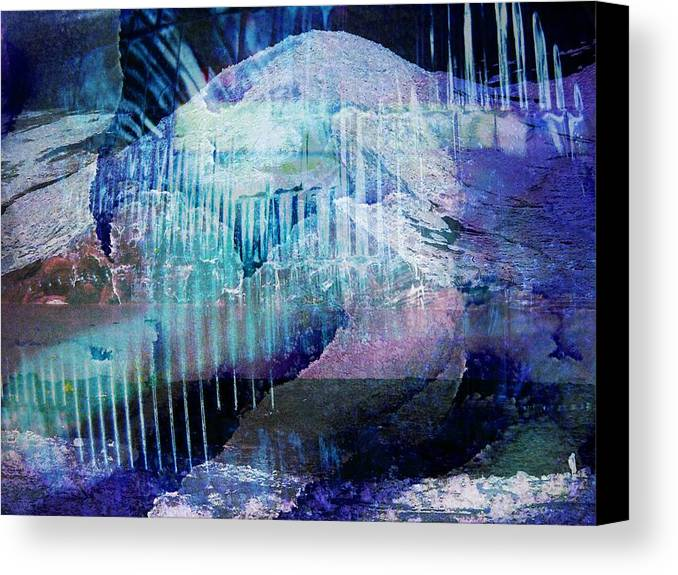 Winter Canvas Print featuring the photograph Wonderfully Cold by Shirley Sirois