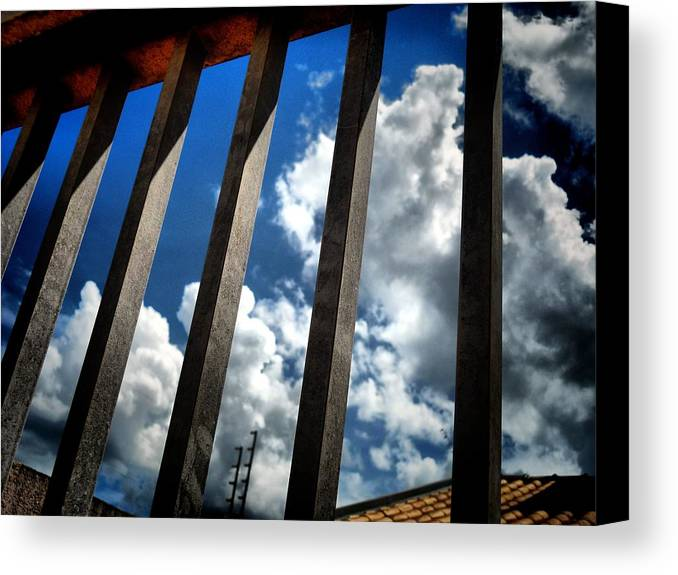 Sky Canvas Print featuring the photograph Freedon by Beto Machado