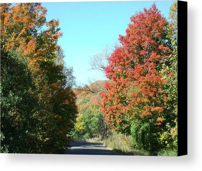 Lazy Fall Day Canvas Print featuring the photograph A Lazy Fall Day by Brian Maloney