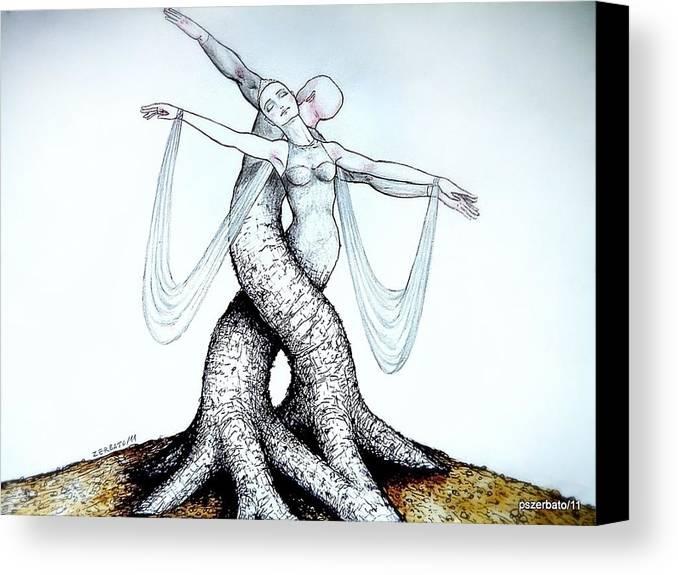 Adagio Of Life Canvas Print featuring the digital art Adagio Of Life by Paulo Zerbato