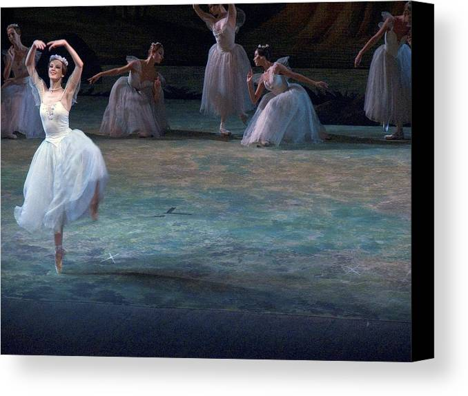 Commonwealth Of Independent States Canvas Print featuring the photograph Ballerinas At The Vaganova Academy by Richard Nowitz