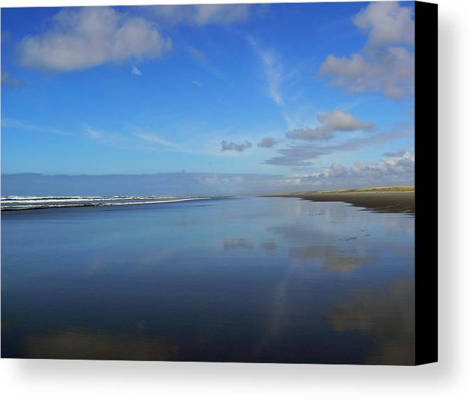 Blue Canvas Print featuring the photograph Blue On Blue by Pamela Patch
