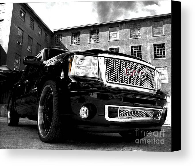 2012 Gmc Canvas Print featuring the photograph Denali 4 by Chad Thompson