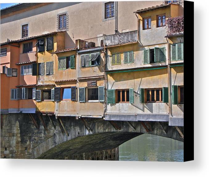 Florence Canvas Print featuring the photograph Florence Iv by David Ritsema