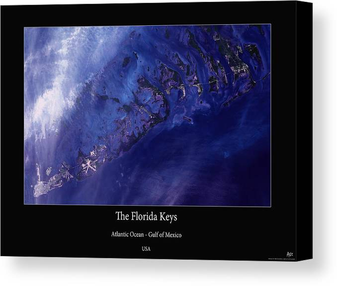 Florida Keys Canvas Print featuring the photograph Florida Keys by Adelaide Images