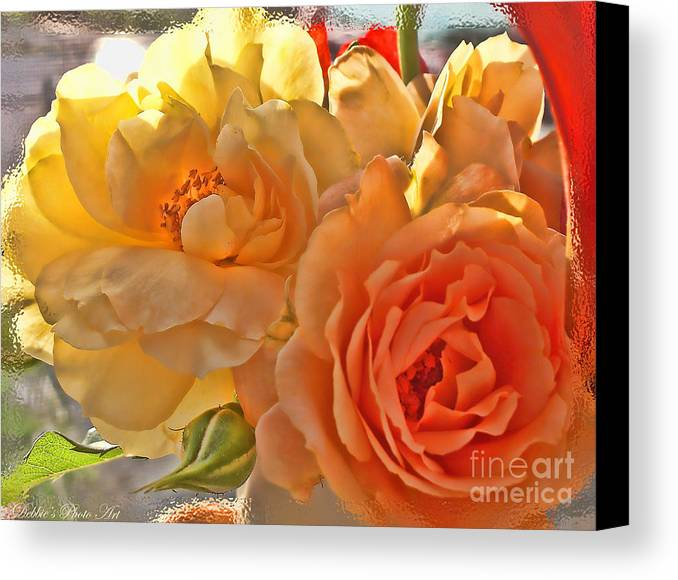 Nature Canvas Print featuring the photograph Golden Light by Debbie Portwood