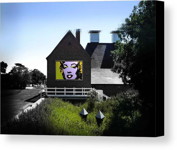 Marilyn Canvas Print featuring the photograph Heatwave by Charles Stuart