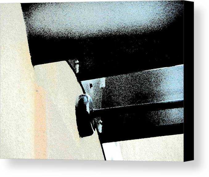 Abstract Canvas Print featuring the photograph Horizontal Lights by Lenore Senior