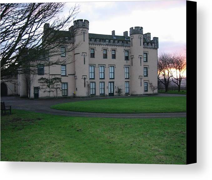 House Canvas Print featuring the photograph House Of The Binns by David Grant