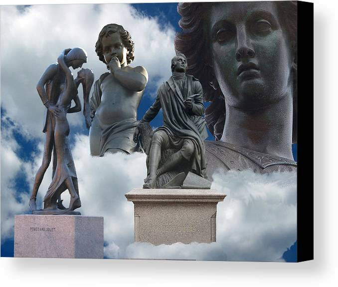 Sky Canvas Print featuring the photograph Inspiration And Creation by Sarah McKoy