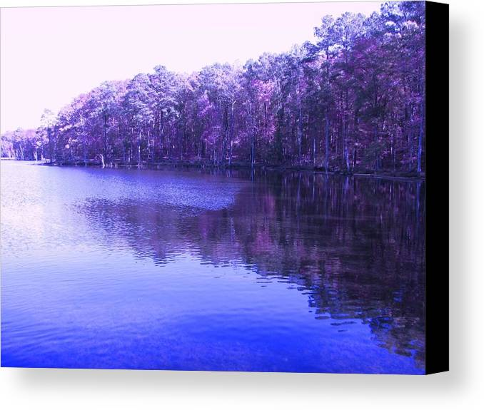 Purple Canvas Print featuring the photograph Majestic Memories by Sheree Boyd