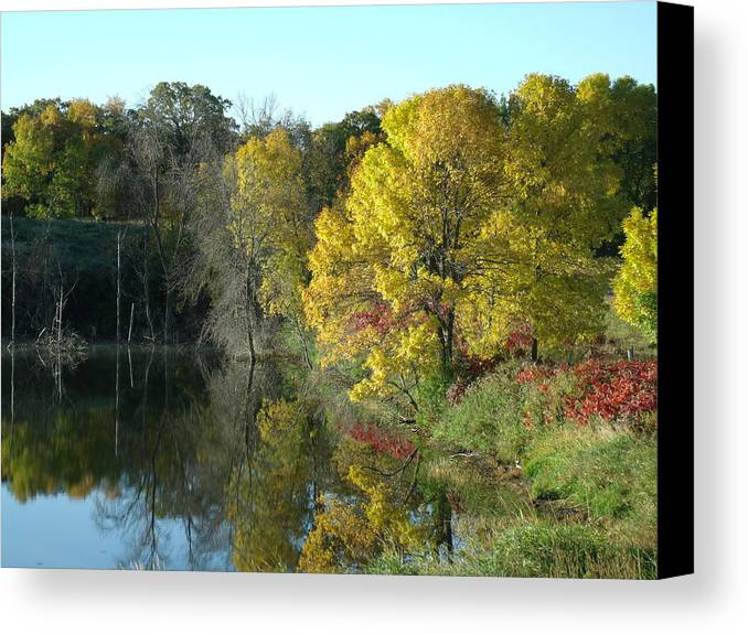 Autumn Splendor Canvas Print featuring the photograph My Autumn Splendor by Brian Maloney