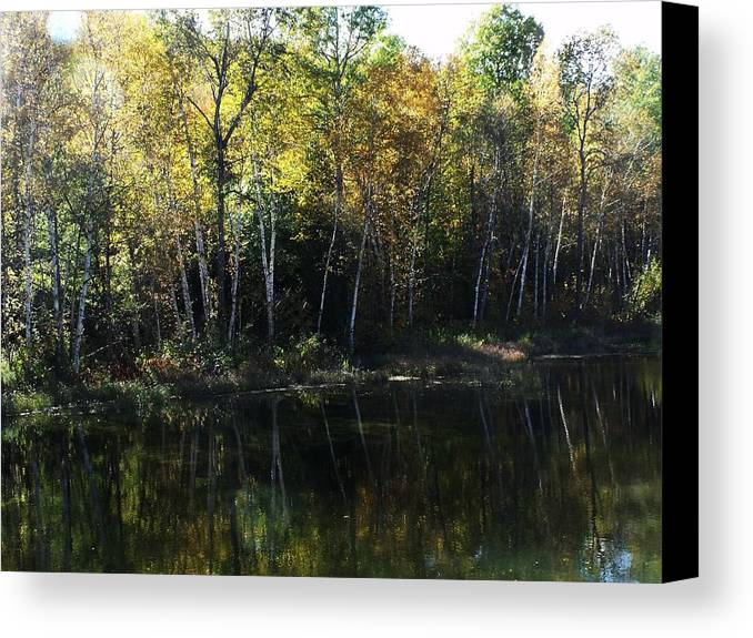 Photograph Canvas Print featuring the photograph Ontario Colors by Dottie Gillespie