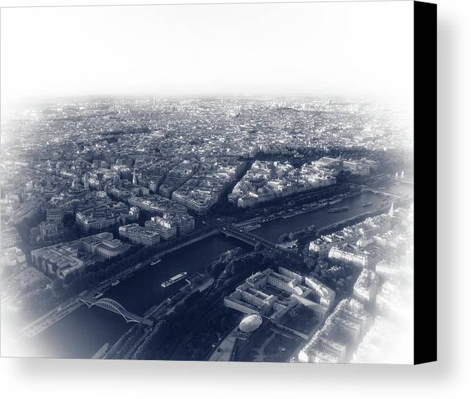 France Canvas Print featuring the photograph Paris Pic.13 by Oleg Volkov