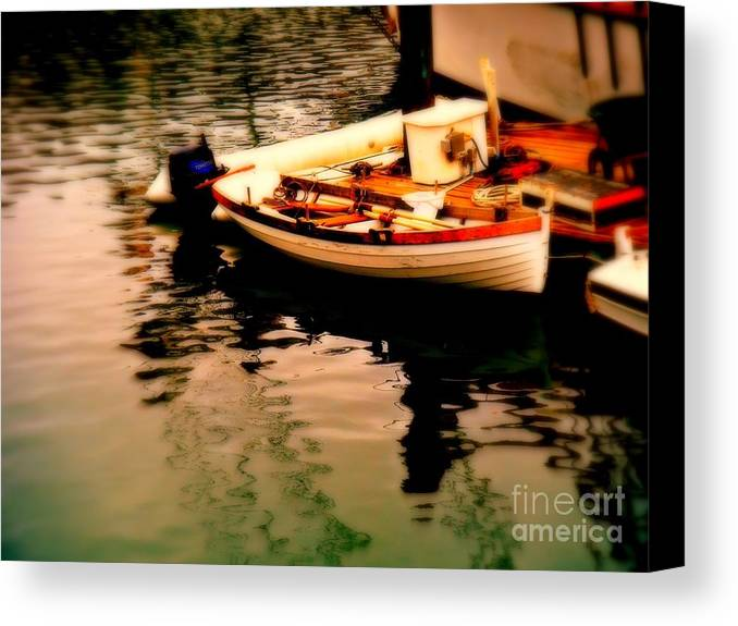 Boats Canvas Print featuring the photograph Ripples And Reflections by Kevin Moore