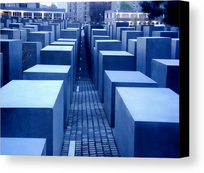 Berlin Canvas Print featuring the photograph Silence by Roberto Alamino