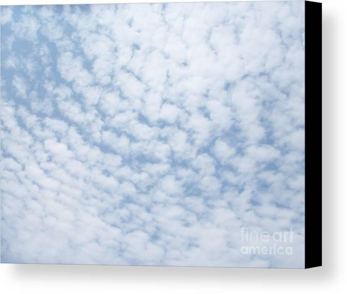 Sky Canvas Print featuring the photograph Sky 20 by Alex Skiba