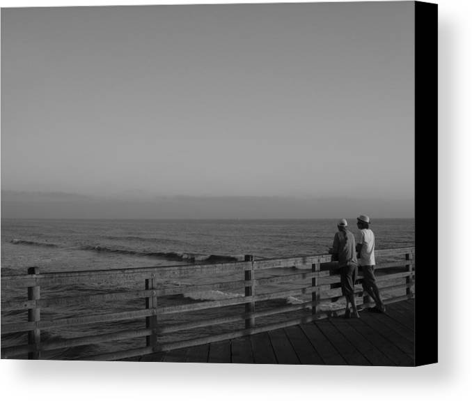 Oceanside Canvas Print featuring the photograph Summer Day by Sean Thompson