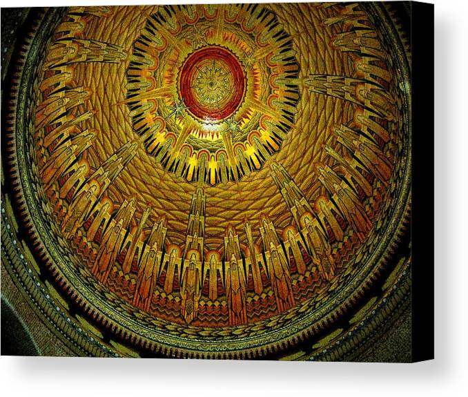 Dome Canvas Print featuring the photograph The Dome by Douglas Barnard