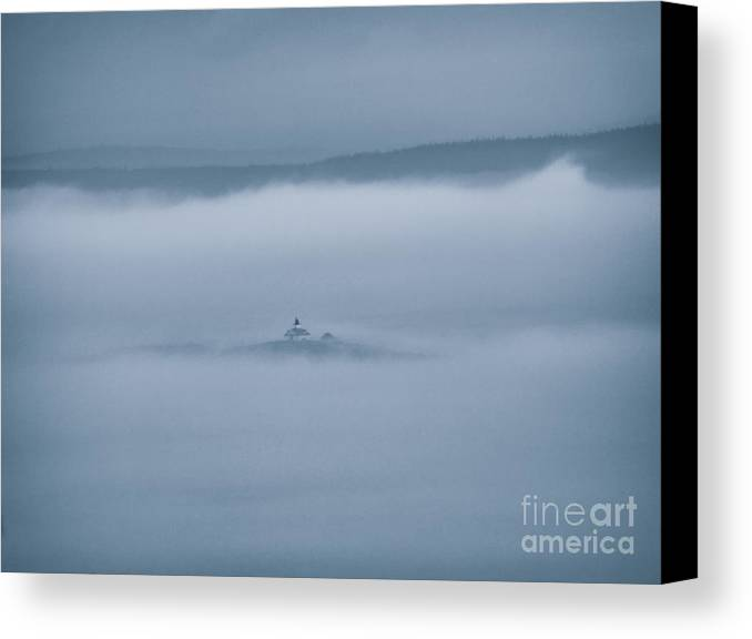 Acadia National Park Canvas Print featuring the photograph Utopia by Venura Herath