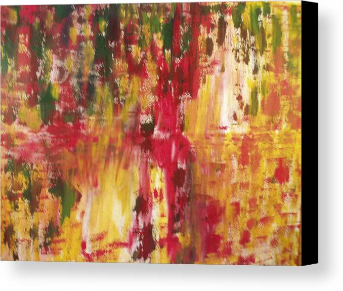 Abstract Canvas Print featuring the painting 74 by Ben Goodall