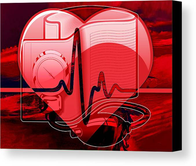 Doctor Canvas Print featuring the mixed media Doctors Collection by Marvin Blaine